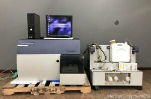 Bd Facscanto Ii Flow Cytometer With Fluids Cart And Computer Biosciences