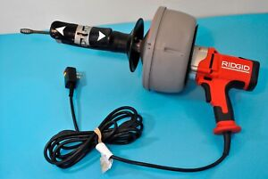 Ridgid Tools K 45 Drain Cleaning Machine W Autofeed Inner Core Cable Snake