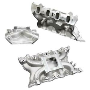 Weiand X celerator Intake Manifold 7516 Ford 351c Fits Ford 2v Heads