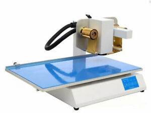 New Automatic Digital Version Hot Press Gold Foil Stamping Machine Printer