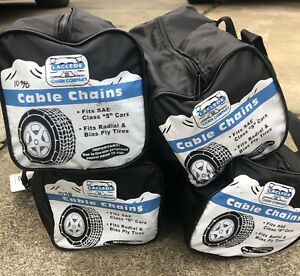 Laclede Chain Company Cable Tire Snow Chains 1038