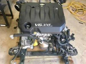 3 6l V6 Vvt Engine And Transmission Assembly With Ecm
