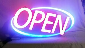 Premier Pos 30 X 15 5 Open Led Sign New
