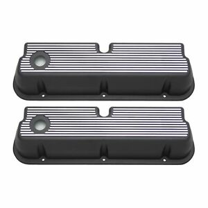 Racing Power Rpc R6283 Engine Valve Covers Aluminum Sb Ford Tall Valve Covers