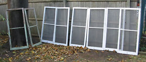 1 Salvage Vintage Antique 1929 Screened Window Or Lot Of 6 Pick Up Only