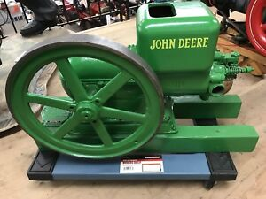 John Deere Hit And Miss cut a way Restored Collectable