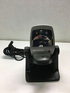 Opticon Opv 1001 Barcode Scanner With Base
