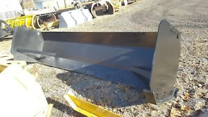 Linville 12 Snow Pusher Box Backhoe Loader Snow Pusher Blade Used