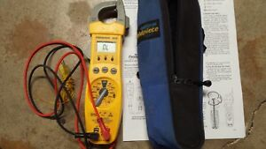 Fieldpiece Sc76 Hvac r Clamp Meter With Temperature And Capacitance
