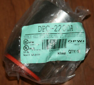 2 new Opw Dpc 2200a 2 Stainless Steel Double Wall Pipe Coupling flexworks