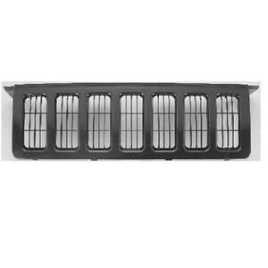 New For Jeep Commander Utility Front Grille Fits 2006 2010 5jr621x8ad Ch1200302