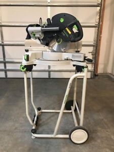 Festool 561287 Kapex Ks 120 Sliding Compound Miter Saw With underframe Ug ka ks