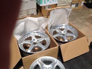 Ferrari Hamann 360 550 575 Rear Wheels 5x108