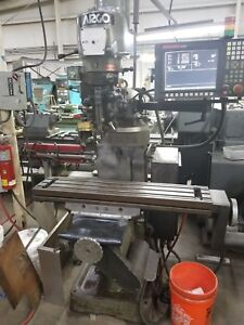 Argo 2vs Cnc Mill With Anilam 1100 M Controller Good Working Order