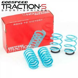 For Mustang 15 20 Lowering Springs Traction S By Godspeed Ls Ts Fd 0004