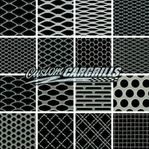 Ccg Universal Grill Mesh Big Sample Pack 3 X 3 16 Piece Silver