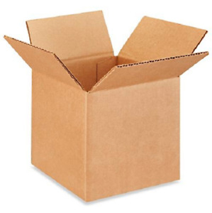 200 6x6x6 Cardboard Paper Boxes Mailing Packing Shipping Box Corrugated Carton