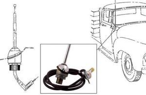 New Cowl Mount Radio Antenna 1953 1954 1955 Ford Pickup Truck