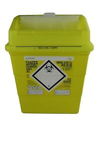 Frontier 41152430 Medical Sharps Disposal Bin box 13 L Shipping Included