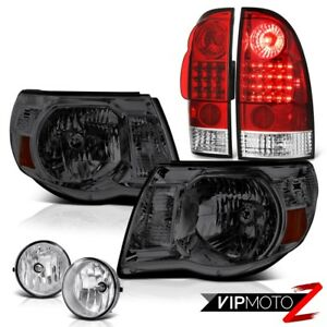 Smoke Head Lights Lh rh Led Brake Lights Bumper Fog 05 06 07 08 09 10 11 Tacoma