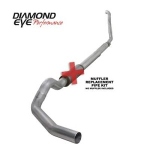 Diamond Eye K5315a rp 5 Turbo back Exhaust 94 97 Ford Powerstroke 7 3l Diesel