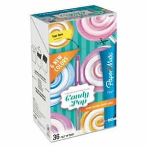 Paper Mate Flair Candy Pop Assorted Ink Ultra Fine 36 pack pap1984557
