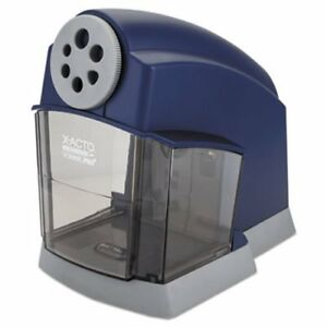 X acto School Pro Classroom Electric Pencil Sharpener Blue gray epi1670lmr
