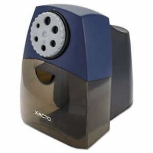 X acto Teacherpro Classroom Electric Pencil Sharpener Blue epi1675lmr
