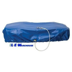 Weaver Leather Double Bucket Cover Blue
