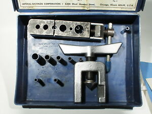 Imperial Eastman 3 16 5 8 45 Degree Tubing Flaring Tool Kit 124 f 500 f