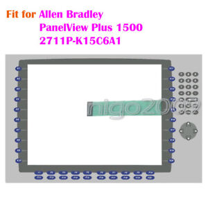 For Allen Bradley Panelview Plus 1500 2711p k15c6a1 Membrane Keypad Key Mask New
