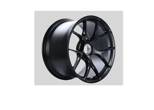 Bbs Satin Black Fi R Wheel 20x12 Porsche Center Lock Et44 Fi134bs