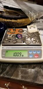 Lot Of Sterling Silver Jewelry Some Scrap Some Not Over 100 Total Grams 15