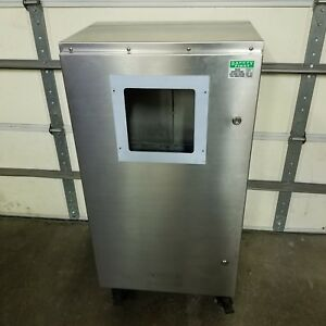 Stainless Steel Enclosure 47 X 24 X 17 Locking Casters