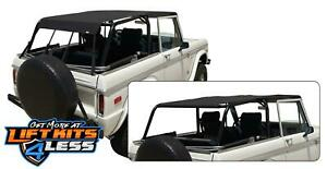 Rampage 98235 Safari Island Topper Soft Top For 1966 1977 Ford Bronco