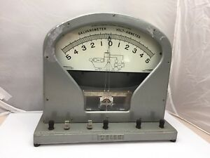 The Welch Scientific Company Vintage Galvanometer 2692 Large Model