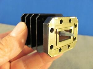 Waveguide Wr75 Low Power Load Ku band 10 To 15 Ghz length 2 Cprg Flange