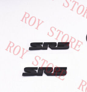 Toyota 4runner Tundra Tacoma Sr5 Black Out Emblem Nameplate