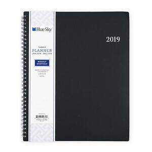 2019 Weekly Monthly Planner Binder Personal Diary Academic Student Soft Cover