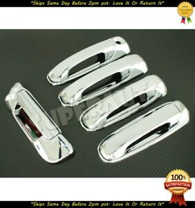 For 02 08 Dodge Ram 1500 03 09 Ram 2500 3500 Chrome 4dr Handles Tailgate Covers