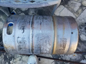 1 2 Barrel Used Empty Beer Keg Stainless Steel 15 5 Gallon