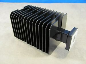 Waveguide Wr75 High Power Load Ku band 10 15 Ghz Cover Smooth Flange
