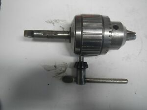 Jacobs No 18n Drill Chuck With Mt2 Shank 1 8 To 3 4 Inch Capacity