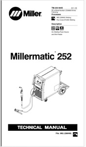 Millermatic 252 Service Manual Eff With Lg290851b