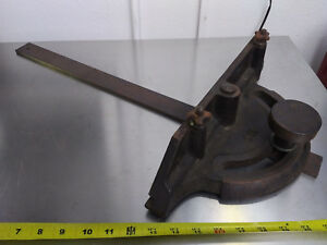 Early Oliver Table Saw Miter Gauge Gage Type 1 Casting B13 813 Hardware