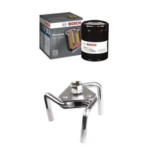 Oil Filter With Bosch 3323 Premium Wrench Otc Oil Filter