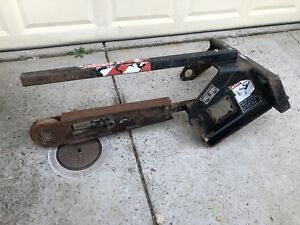 Ditch Witch Sk3tr Trencher Attachment bare Frame Incomplete Sacramento