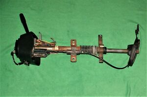 90 93 Ford Mustang Gt Lx Factory Steering Column With Key And Clock Spring