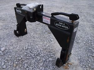Speeco Category 2 Quick Hitch For 3 Point Hitch Tractor Attachment Ship 149