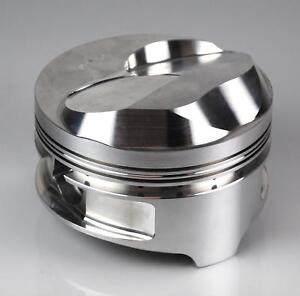 Ross Pistons 86062 Piston Forged Dome 4 310 In Bore Chevy Set Of 8